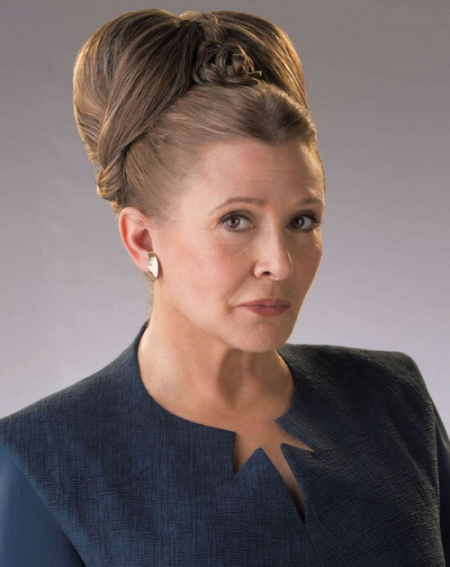 Carrie Fisher's Death is Breaking Me